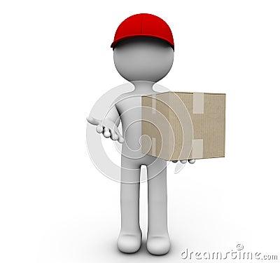 Cardboard deliver