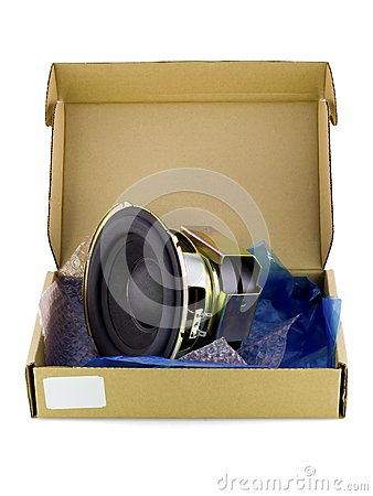 Cardboard packing for electronic spare parts