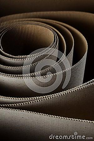 Cardboard roll