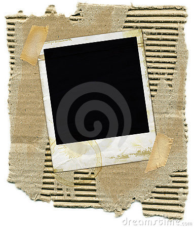 Free Cardboard With Polaroid Royalty Free Stock Images - 2650649