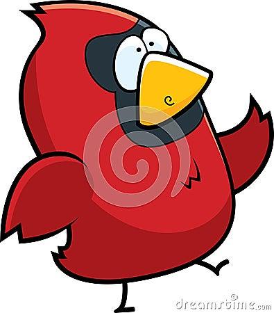 Free Cardinal Bird Royalty Free Stock Images - 8456049