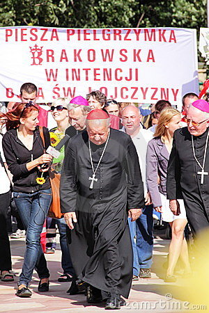 Cardinal Dziwisz Editorial Photo