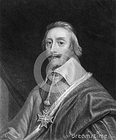 Cardinal Richelieu Editorial Image
