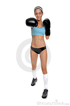 Cardio Boxing Right Cross