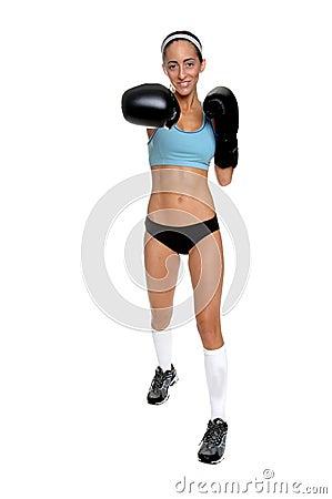 Cardio Boxing Right Cross