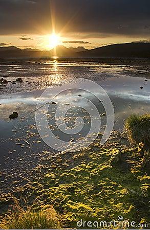 Cardross sunset