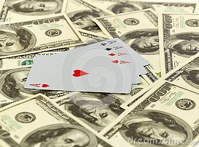 Cards on 100 dollars