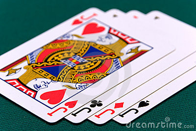 Cards four or two card 04 jacks