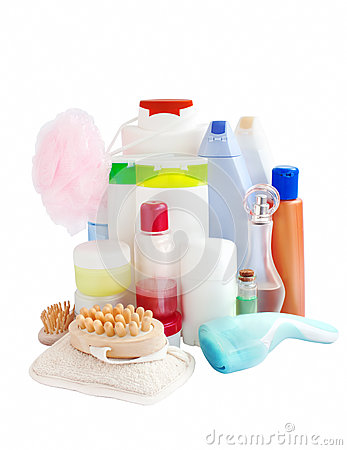 Free Care And Bathroom Products Stock Images - 32028564