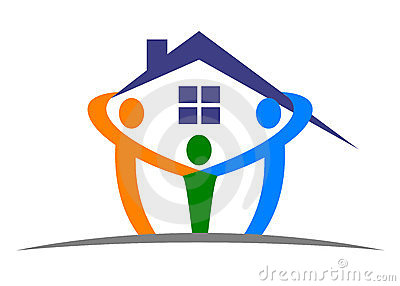Home Care Logo Royalty Free Stock Image - Image: 25431026