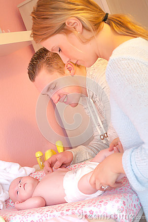 Free Care Of Our Baby Stock Image - 30502791