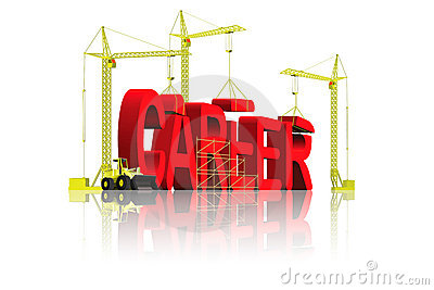 Career building job promotion