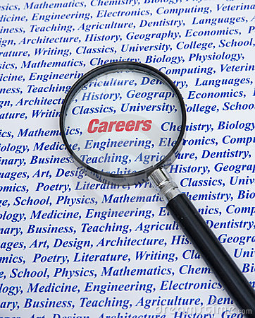 Career choice.