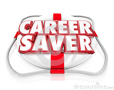 Career Saver Life Preserver Career Job Rescue