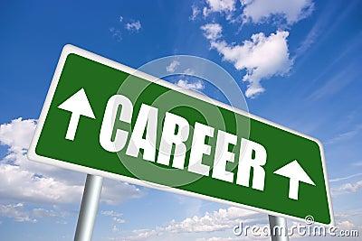 Career sign