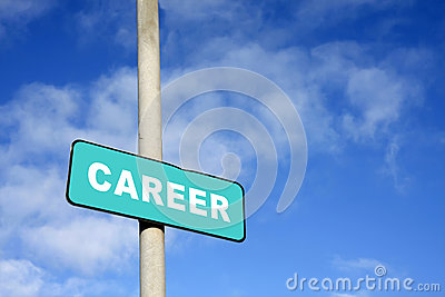 Career sign