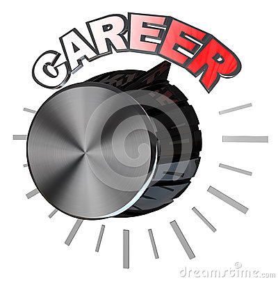 Career Volume Knob Turned to Highest Level to Succeed