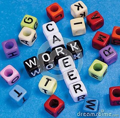Career or Work Stock Photo