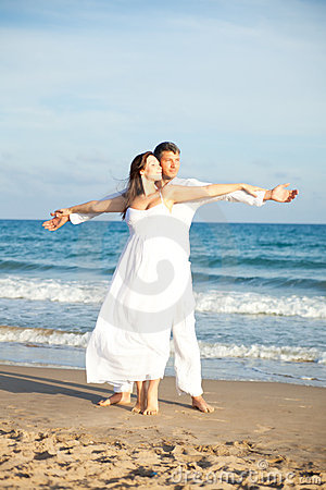Carefree Beach couple