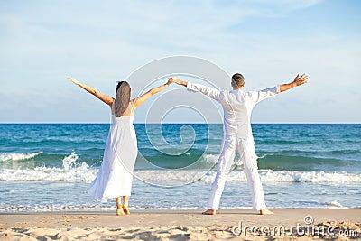 Carefree Beach couple