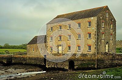 Carew tidal mill, Pembrokeshire, Wales