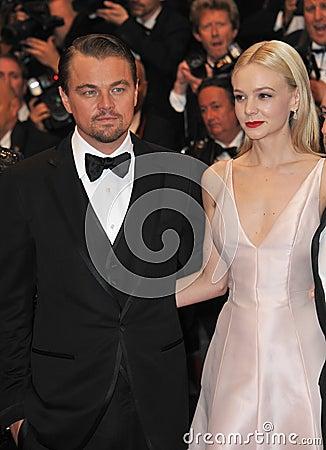 Carey Mulligan,Leonardo DiCaprio Editorial Image