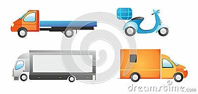 Cargo cars set