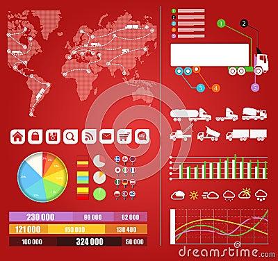 Cargo infographics