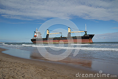 Cargo Ship Editorial Image