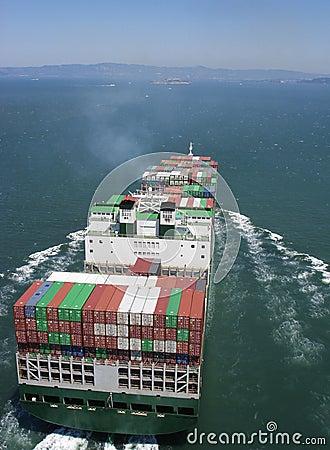 Free Cargo Ship Stock Photography - 6556752