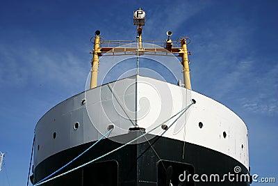 Cargo ship front
