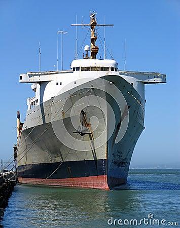 Free Cargo Shipped Docked At The Embarcadero Royalty Free Stock Photography - 259367
