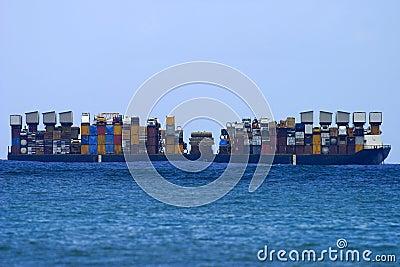 Cargo Shipping Boat