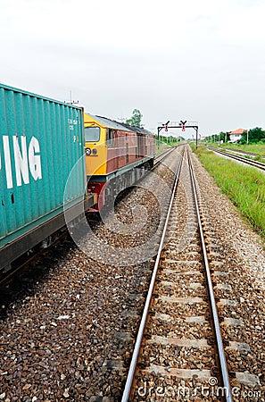 Free Cargo Train Stock Photography - 15089092