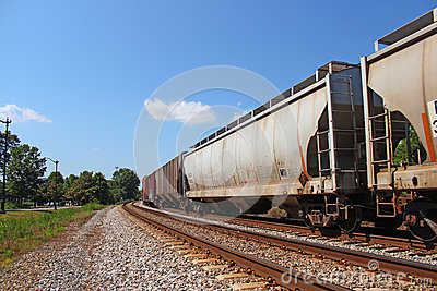 Cargo Train Royalty Free Stock Photos - Image: 24654038