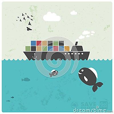Cargo transport - ocean freight