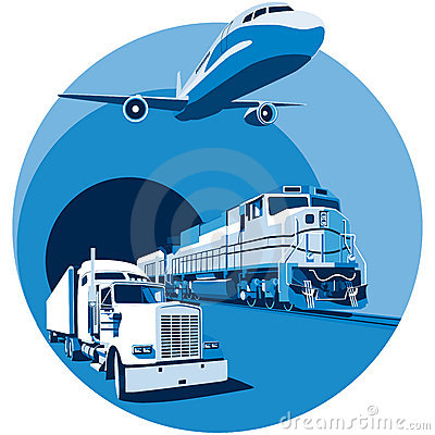 Free Cargo Transportation Blue Stock Photo - 12710550