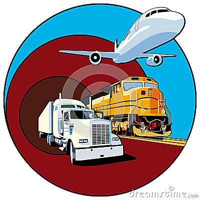 Free Cargo Transportation II Royalty Free Stock Photo - 12710565