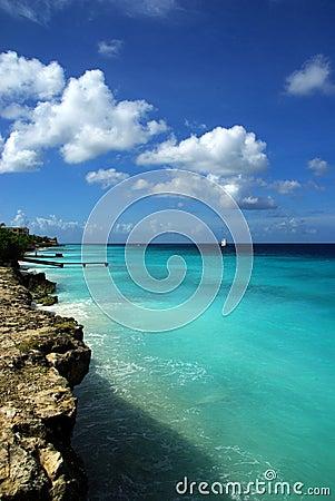 пляж caribbean