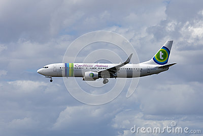 Caribbean Airlines Editorial Stock Image