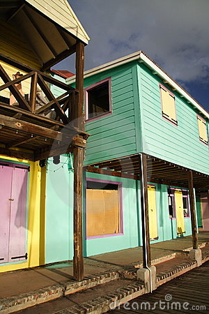 Caribbean Architecture Stock Photo Image 909720