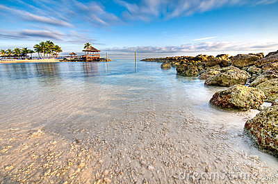 Caribbean Beach Royalty Free Stock Images - Image: 12649649