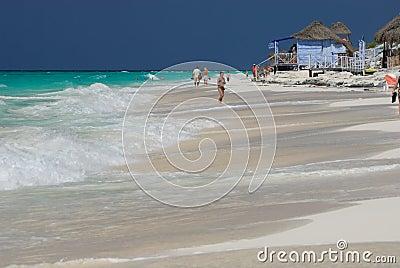 Caribbean Beach. Cuba