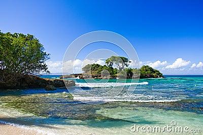 Caribbean Beach at a Luxury Resort