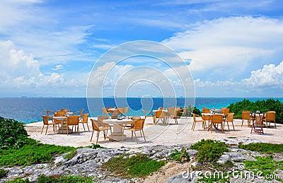 Caribbean Beach Restaurant, Mexico