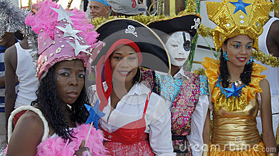 Caribbean carnival Editorial Photo
