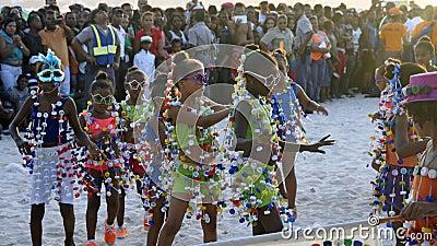 Caribbean carnival Editorial Stock Photo