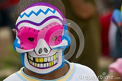 Caribbean Carnival Mask