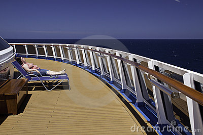 Caribbean Cruise - Get Away From It All Editorial Stock Photo
