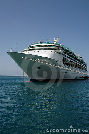 Free Caribbean Cruise Ship Royalty Free Stock Photo - 2720245